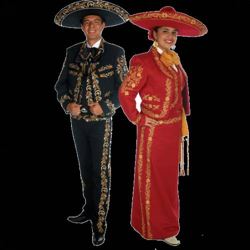 Мексиканский костюм ХХ века - Мексика - Фотоальбомы - Wild-West photo 2